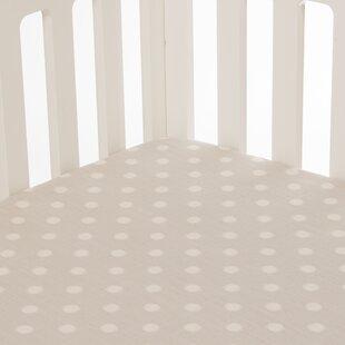 Stecker Fitted Crib Sheet ByHarriet Bee