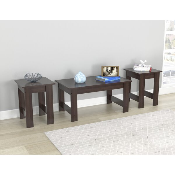 Bargain Angulo 3 Piece Coffee Table Set by Red Barrel Studio