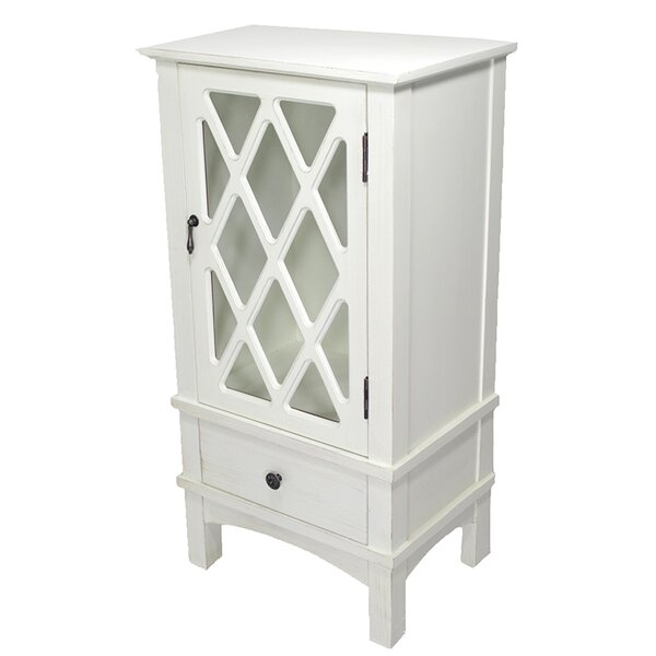 Wilner 1 Drawer and 1 Door Accent Cabinet by Charlton Home