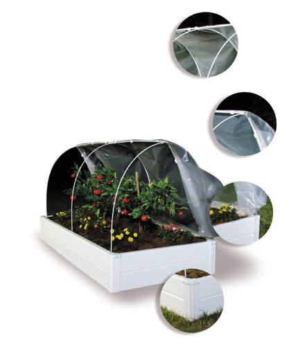 Multi Season System 8 Ft. W x 4 Ft. D Mini Greenhouse by Guarden