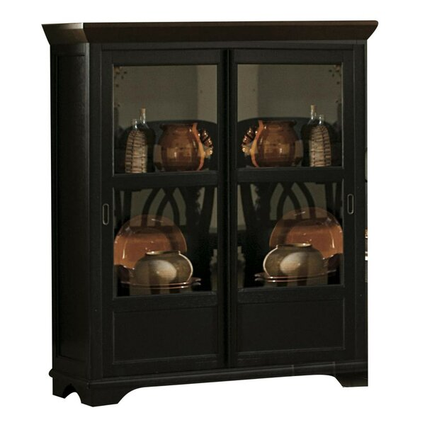 Beaudin Wooden Corner Curio Cabinet by Darby Home Co