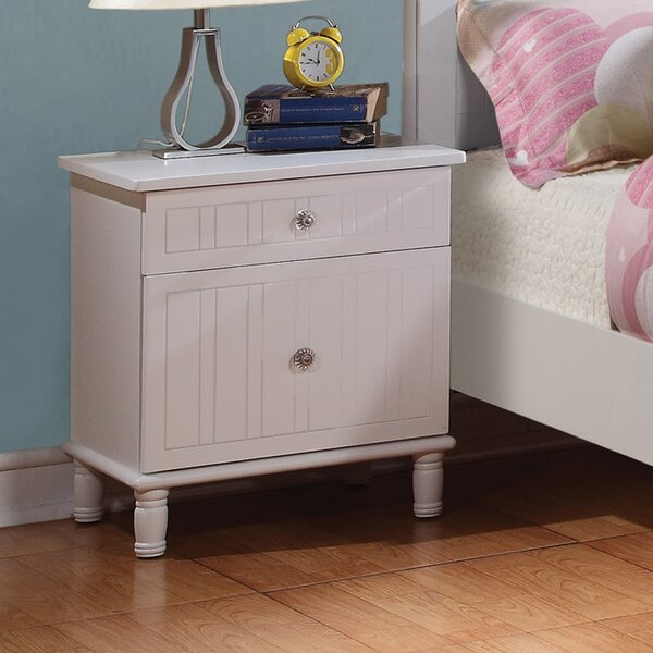 Bethany 2 Drawer Nightstand by Wildon Home ®