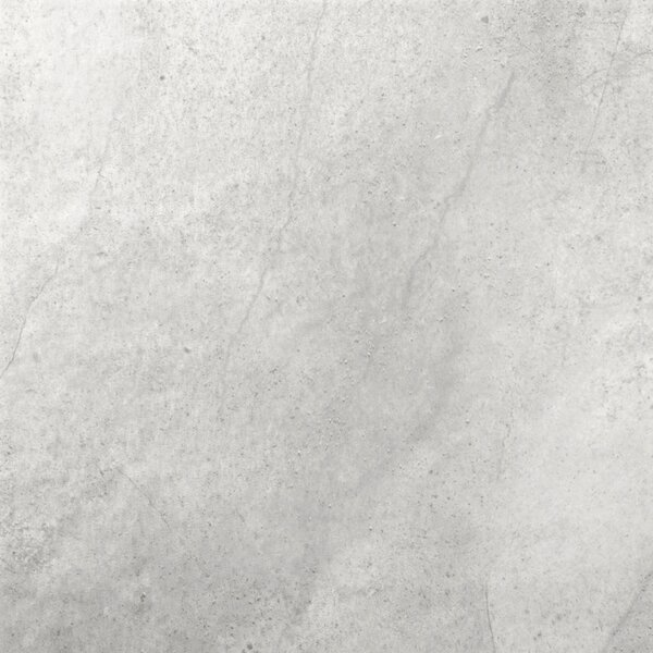 St Moritz II 12 x 12 Porcelain Field Tile in Silver by Emser Tile