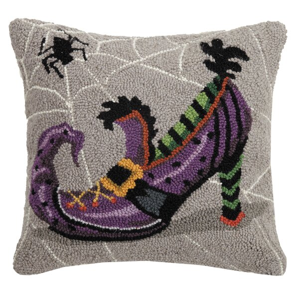 Mckeel Shoe Hook Wool Throw Pillow by The Holiday Aisle