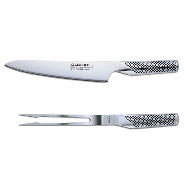 2 Piece Carving Knife Set by Global Knives