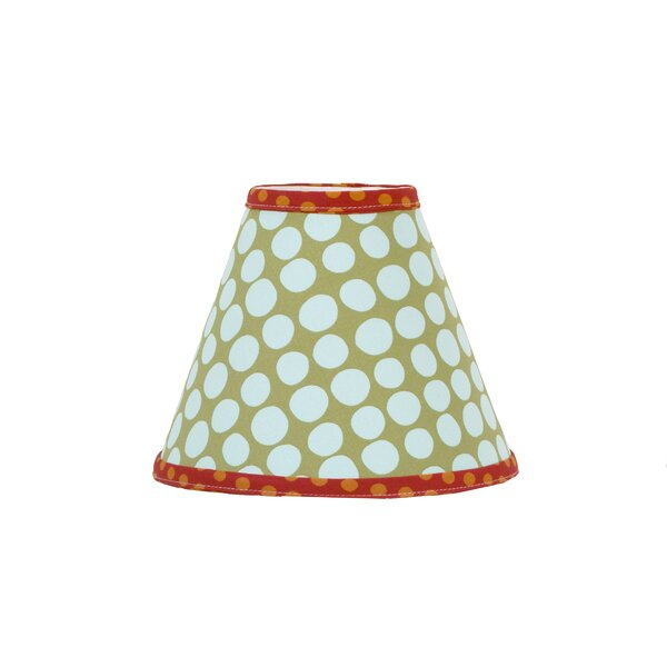 Lagoon 9 Plastic Styrene Covered In fabric Empire Lamp Shade by Cotton Tale