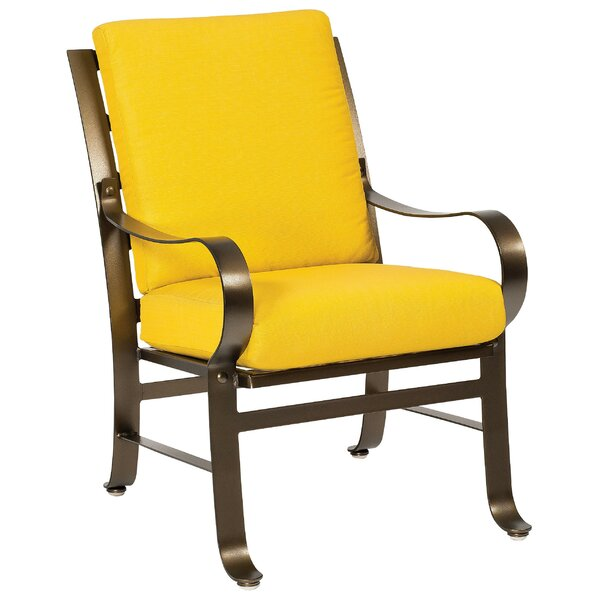 Cascade Patio Dining Chair with Cushions by Woodard