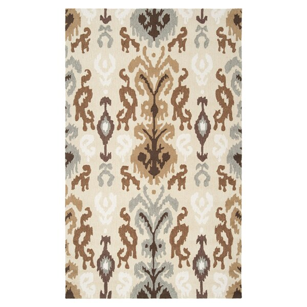 Aime Putty Area Rug by Bloomsbury Market