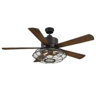 Industrial Style Ceiling Fans You ll Love