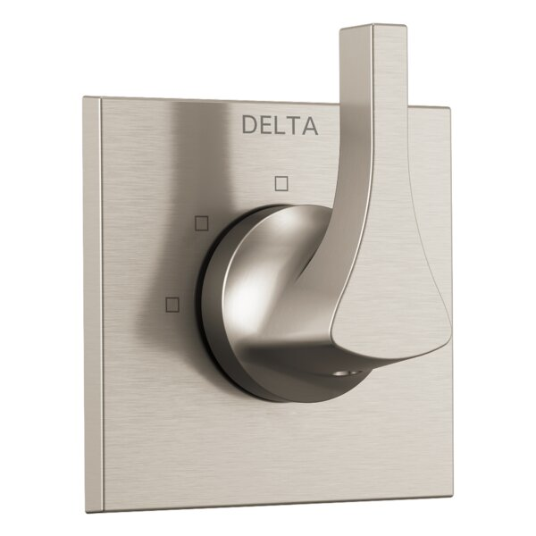 Zura Pressure Balance Trim with Single Handle by Delta