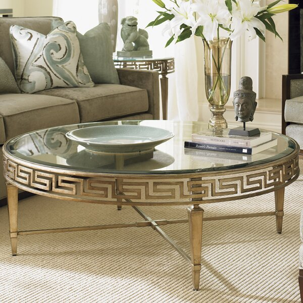 Tower Place Cross Legs Coffee Table By Lexington