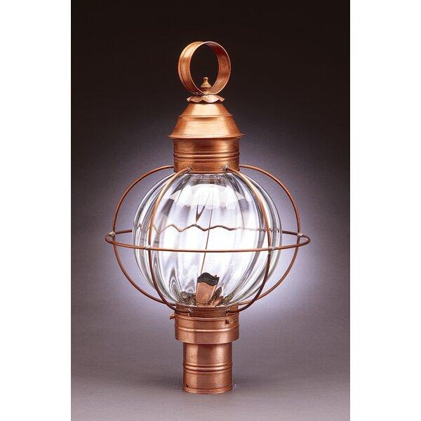 Onion Caged Round 1-Light Lantern Head by Northeast Lantern
