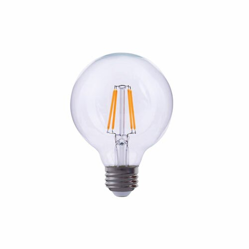 60W Equivalent E26 LED Globe Edison Light Bulb by TriGlow