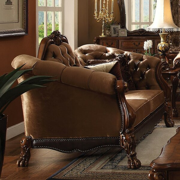 Westmont Loveseat with 5 Pillows by Astoria Grand