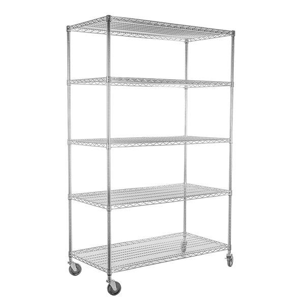 EcoStorage™ 77 H x 48 W File Shelf Shelving Unit by Trinity