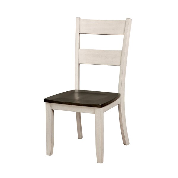 Hearn Solid Wood Dining Chair (Set of 2) by August Grove August Grove