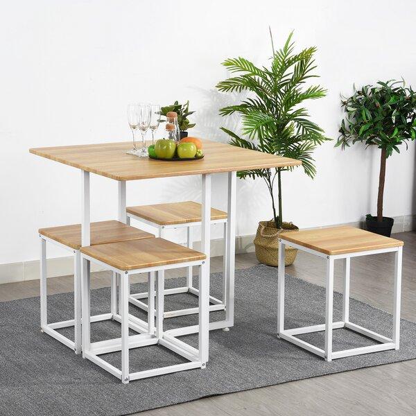 Malave 5 Piece Dining Set by Ebern Designs