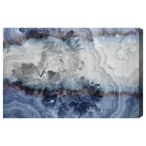'Lunar Agate' Graphic Art on Wrapped Canvas by Willa Arlo Interiors