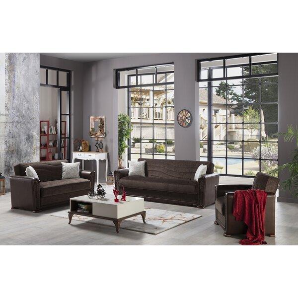 Harlee 3 Piece Living Room Set by Brayden Studio