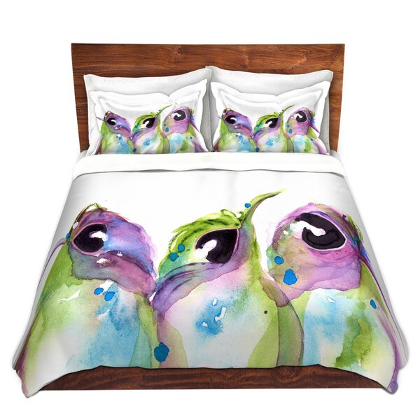 We Three Duvet Cover Set