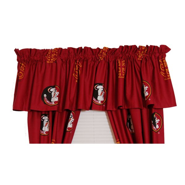 NCAA Florida State Printed Rod Pocket Curtain Valance by College Covers