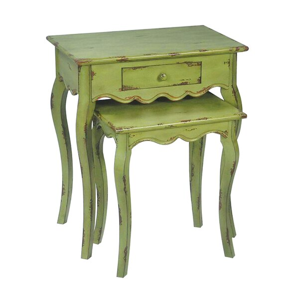 Purnell 2 Piece Nesting Tables by One Allium Way