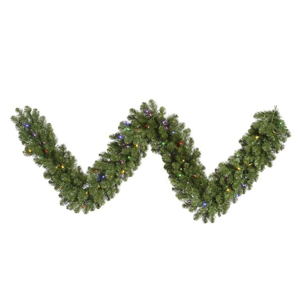 Grand Teton Artificial Christmas Garland with Lights by Vickerman