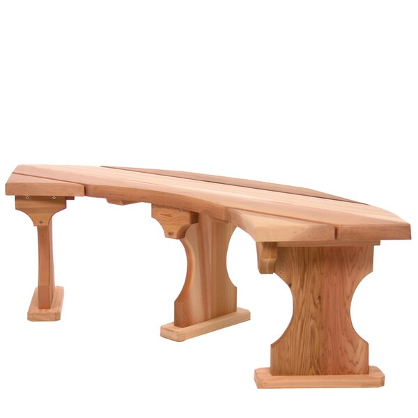 Wood Tree Bench by All Things Cedar