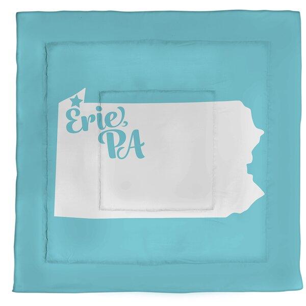 Pennsylvania Erie Single Reversible Comforter