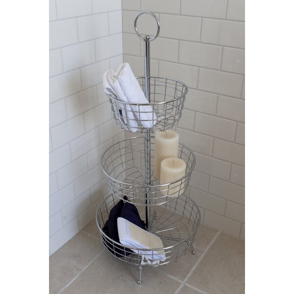 Eva Floor Shower Caddy by Rebrilliant