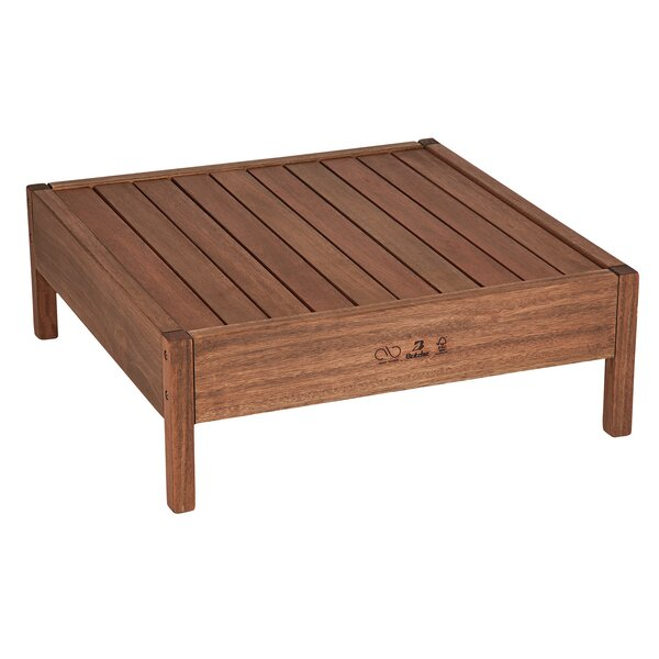 Grass Solid Wood Coffee Table by Alaterre
