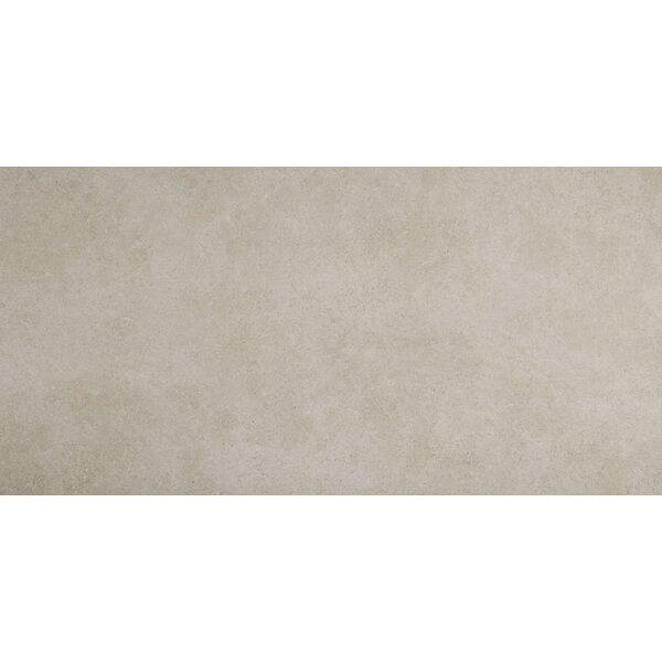 Haut Monde 24 x 48 Porcelain Field Tile in Elite Gray by Daltile