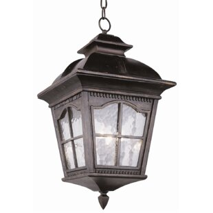Affordable Freeborn 3-Light Outdoor Hanging Lantern By Darby Home Co