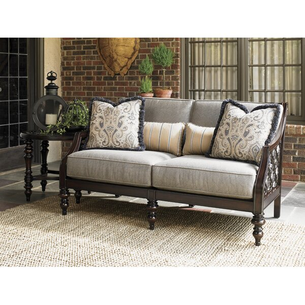 Royal Kahala Loveseat with Cushions by Tommy Bahama Outdoor