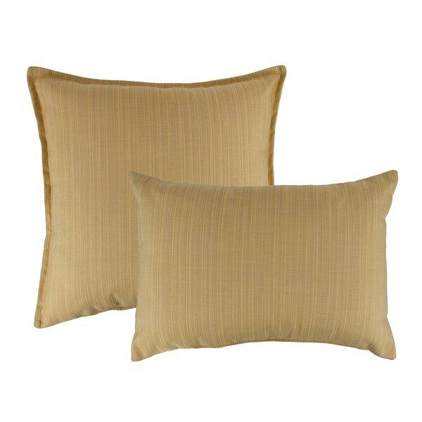 Dupione Combo Outdoor Sunbrella Pillows by Austin Horn Classics