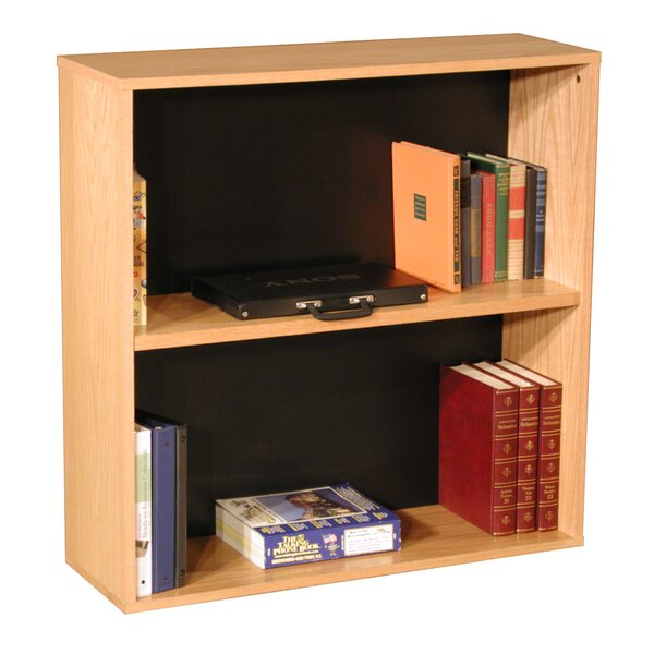 Modular Real Oak Wood Veneer Furniture Standard Bookcase by Rush Furniture