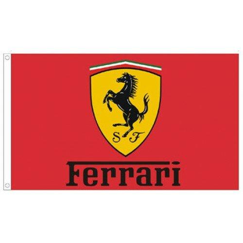 Ferrari Auto Traditional Flag by NeoPlex