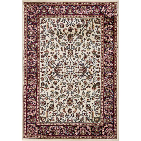 Beardall Ivory Area Rug by Astoria Grand