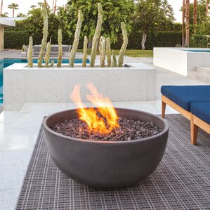 Great Urth Concrete Natural Gas/Propane Fire Pit