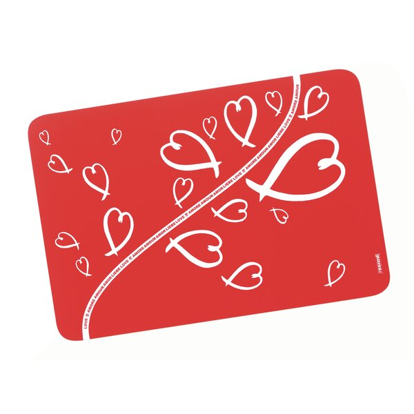 Love 11.7 Placemat (Set of 2) by Guzzini