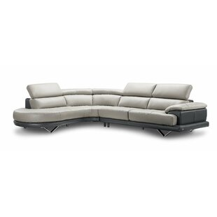 Kerry Leather Sectional
