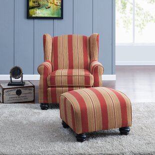 Amazing Brougham Wingback Chair And Ottoman Ocoug Best Dining Table And Chair Ideas Images Ocougorg