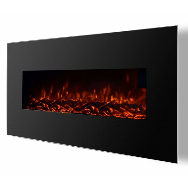 Kewaunee Ventless Heater Wall Mounted Electric Fireplace by Brayden Studio Brayden Studio