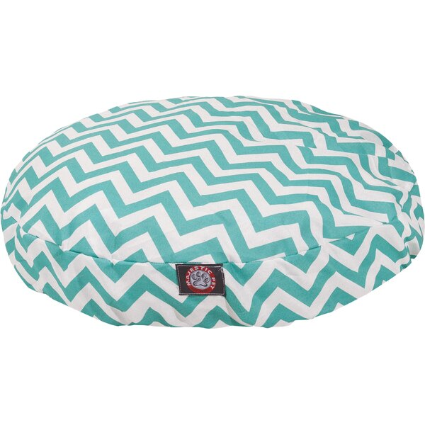 Chevron Round Pet Bed by Majestic Pet Products