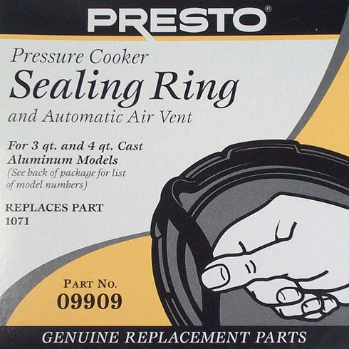 Sealing Ring for Pressure Cooker by Presto