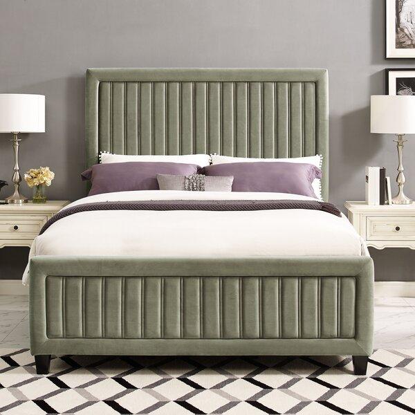 Gerke Upholstered Standard Bed By Mercer41