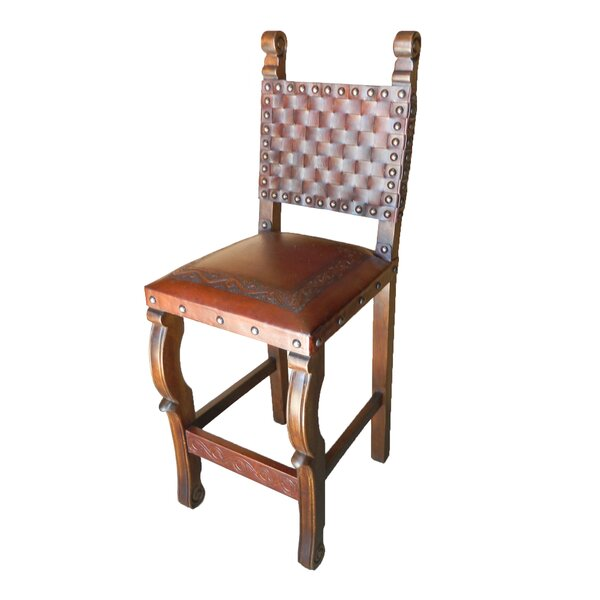 Tylersburg Braided Back 30 Bar Stool (Set of 2) by Astoria Grand