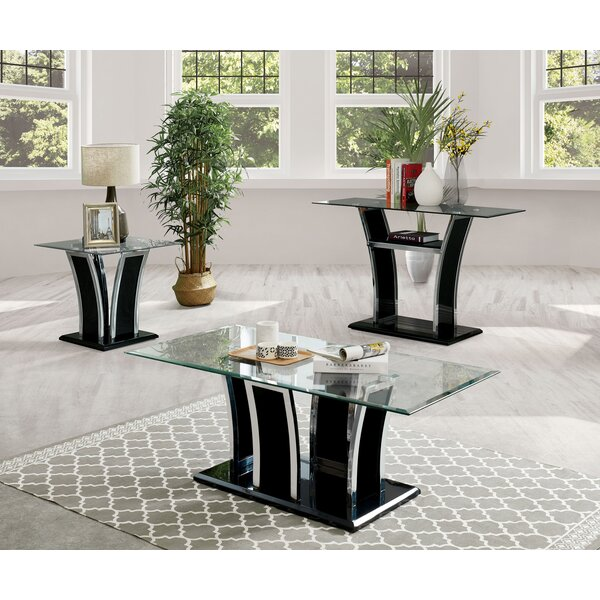 Manhattan 3 Piece Coffee Table Set By Enitial Lab