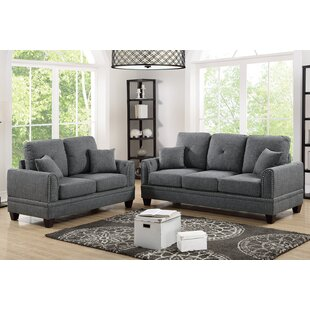 Findlay 2 Piece Living Room Set by Charlton Home®