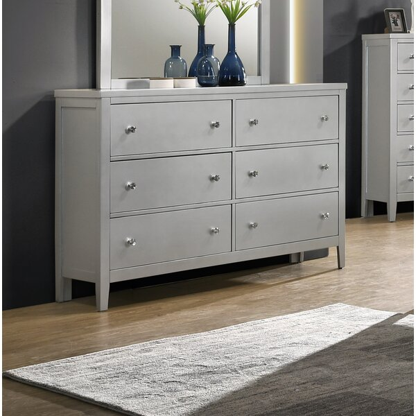 Rottman 6 Drawer Double Dresser By Orren Ellis